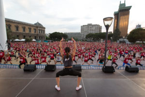 fit night out fiesta fitness madrid colon pau inspirafit
