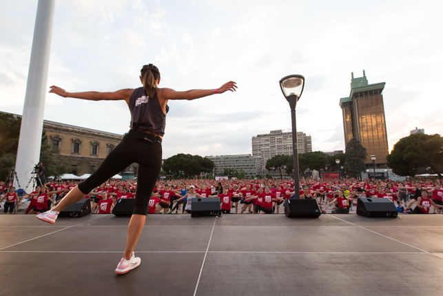 inspirafit fit night out plaza colon madrid fitness mujer