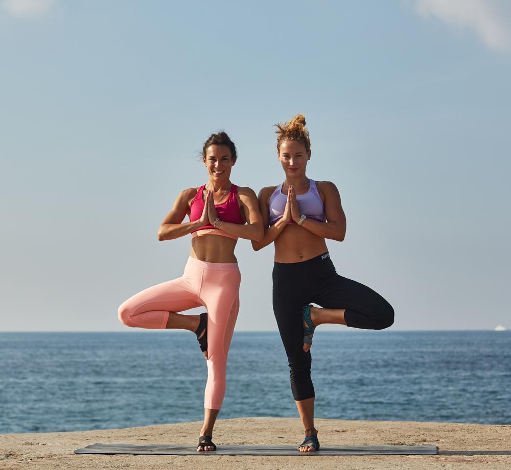 paula butragueño lucy quick playa barcelona yoga