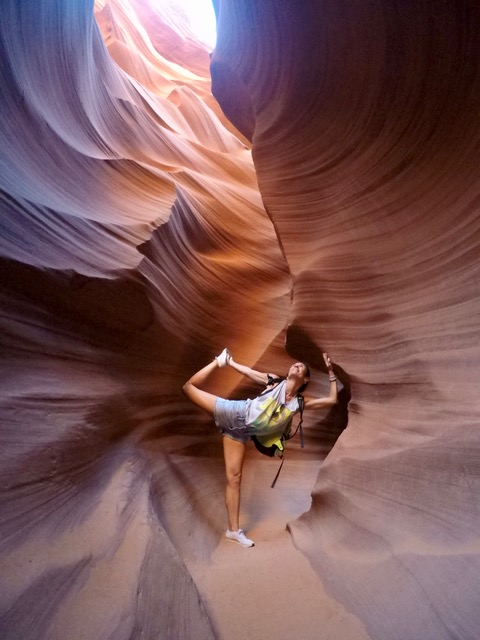 antelope canyon viaje costa oeste paula butragueño