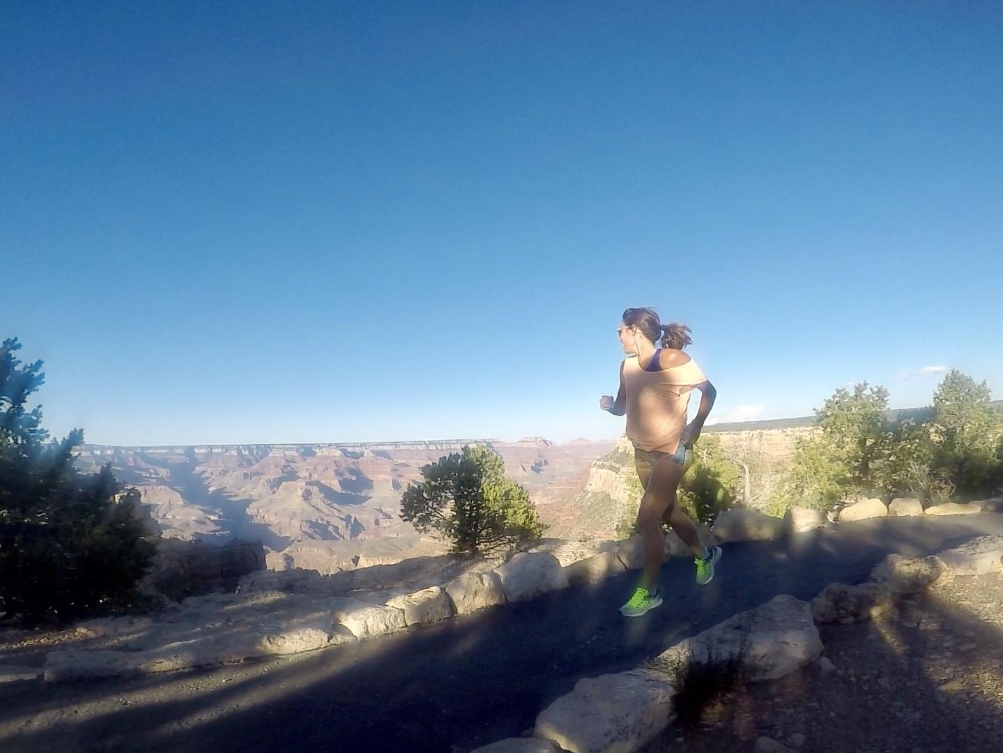 pau inspirafit running grand canyon