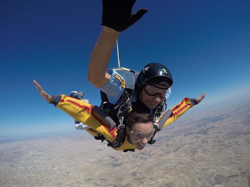 saltar en paracaídas paula butragueño doctor romero