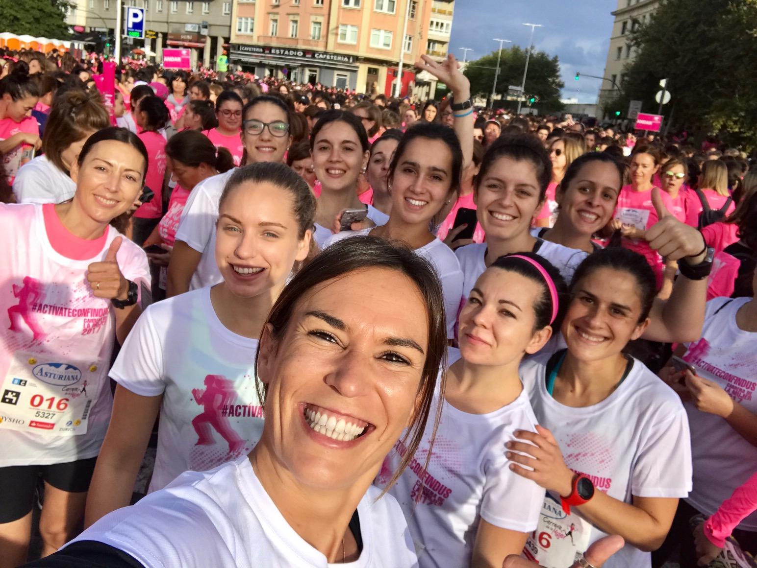 carrera de la mujer findus pau inspirafit paula butragueño