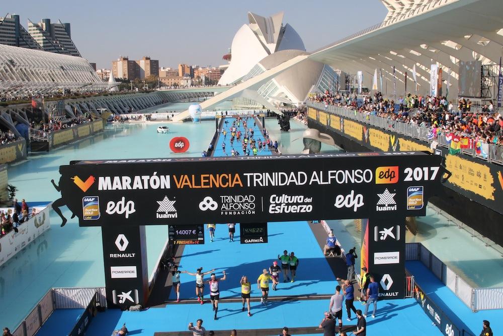 running maratón de valencia trinidad alfonso 2017 paula butragueño