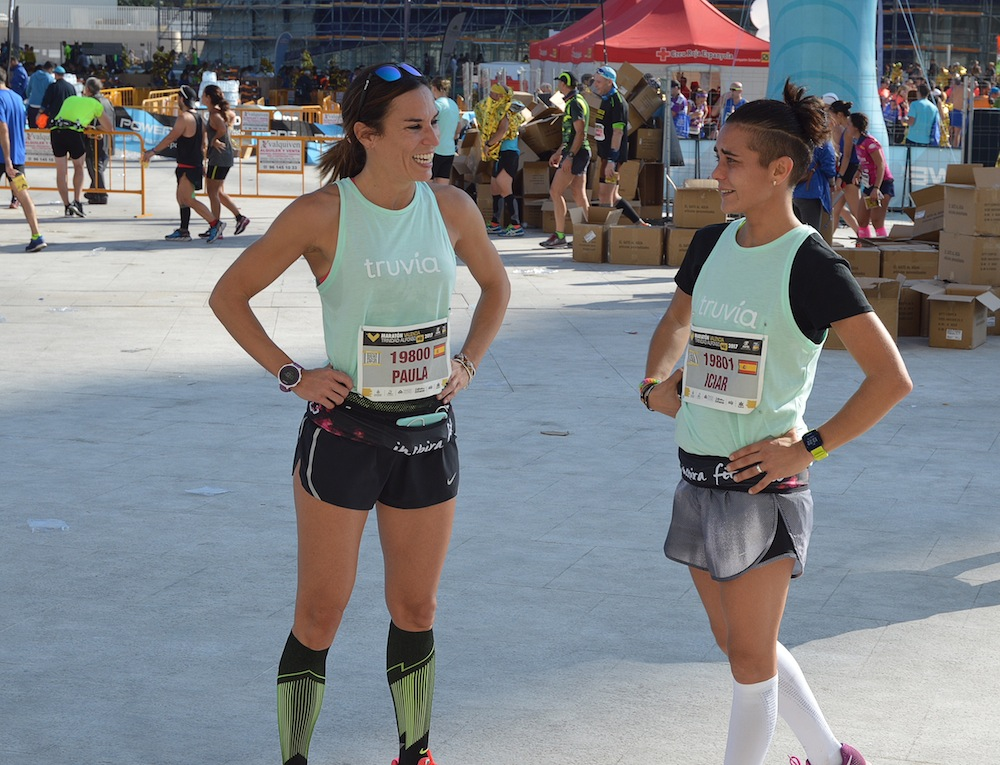 itiziar reto truvia maratón de valencia