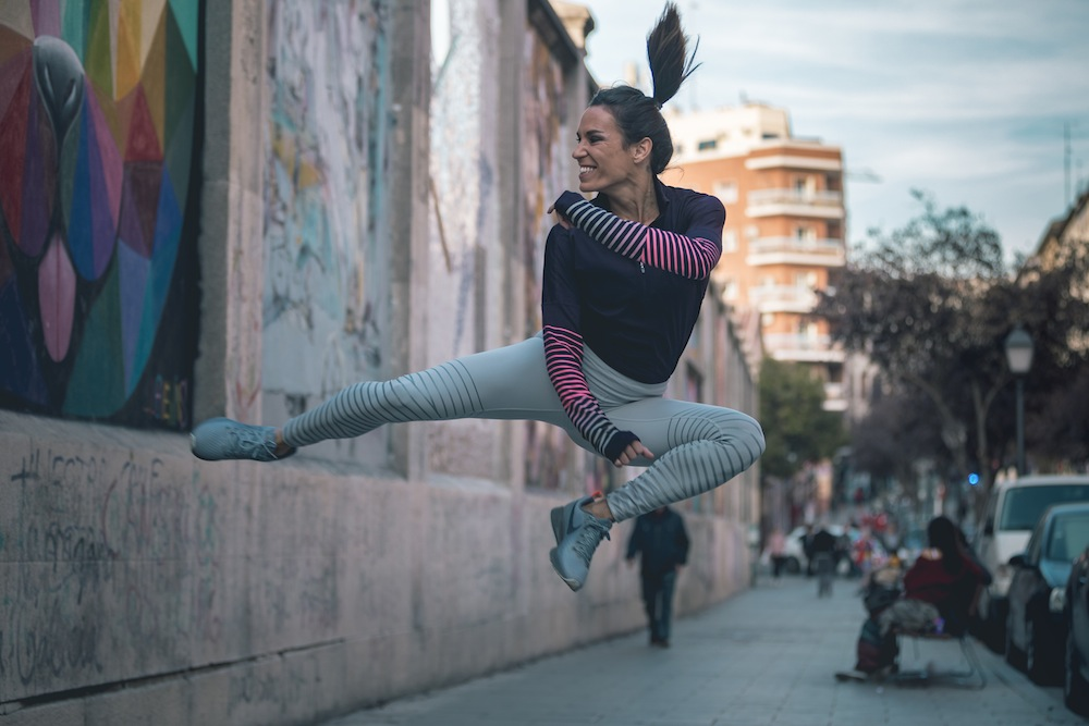 paula butragueño nike running fashion