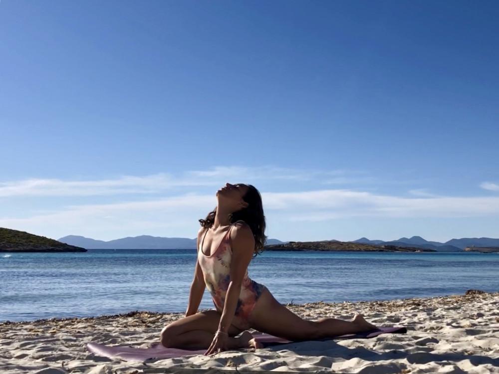 apertura de caderas yoga estiramiento