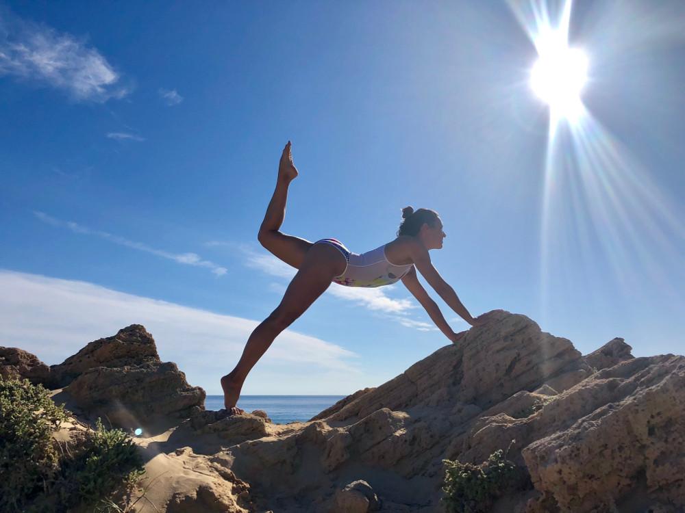 bloqueo de caderas yoga