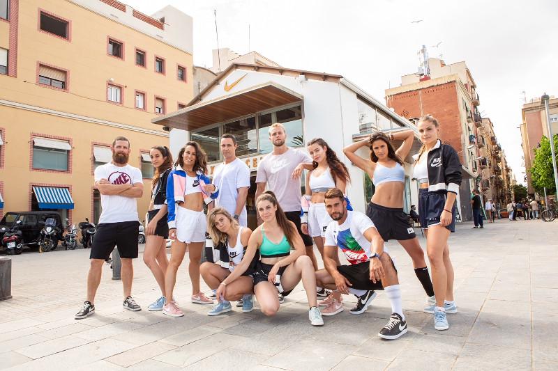 nike team box barcelona paula butragueño