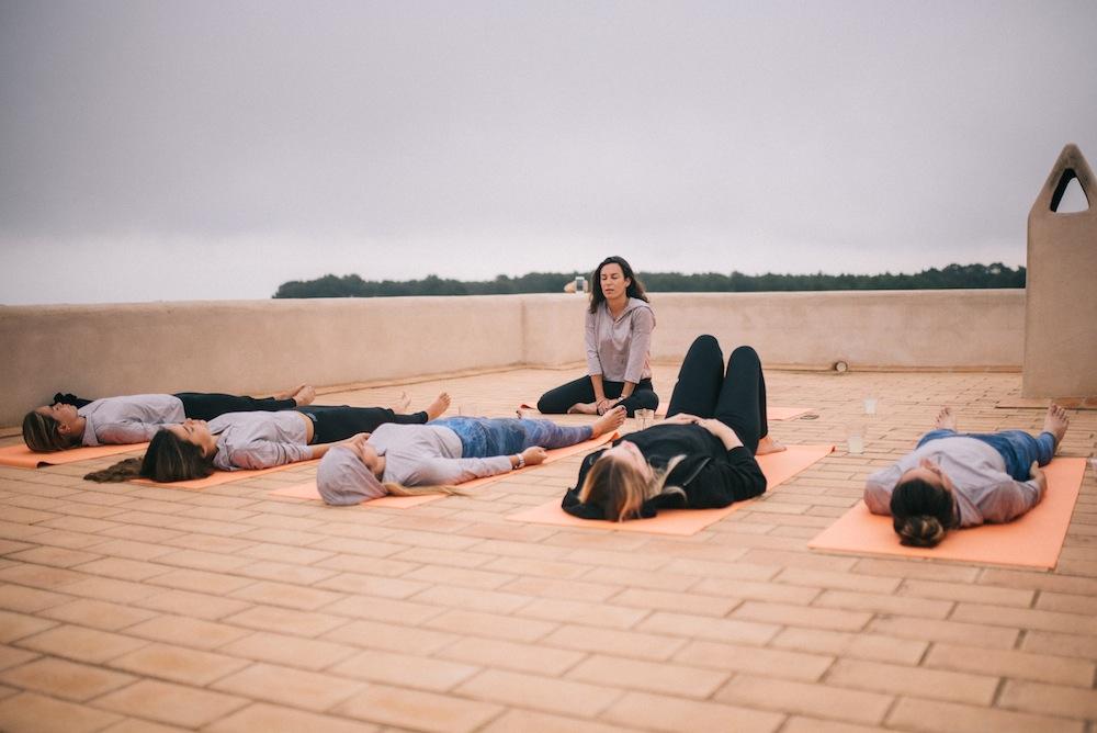 running yoga formentera