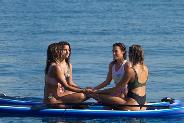 feel the flow paula butragueño surf mar
