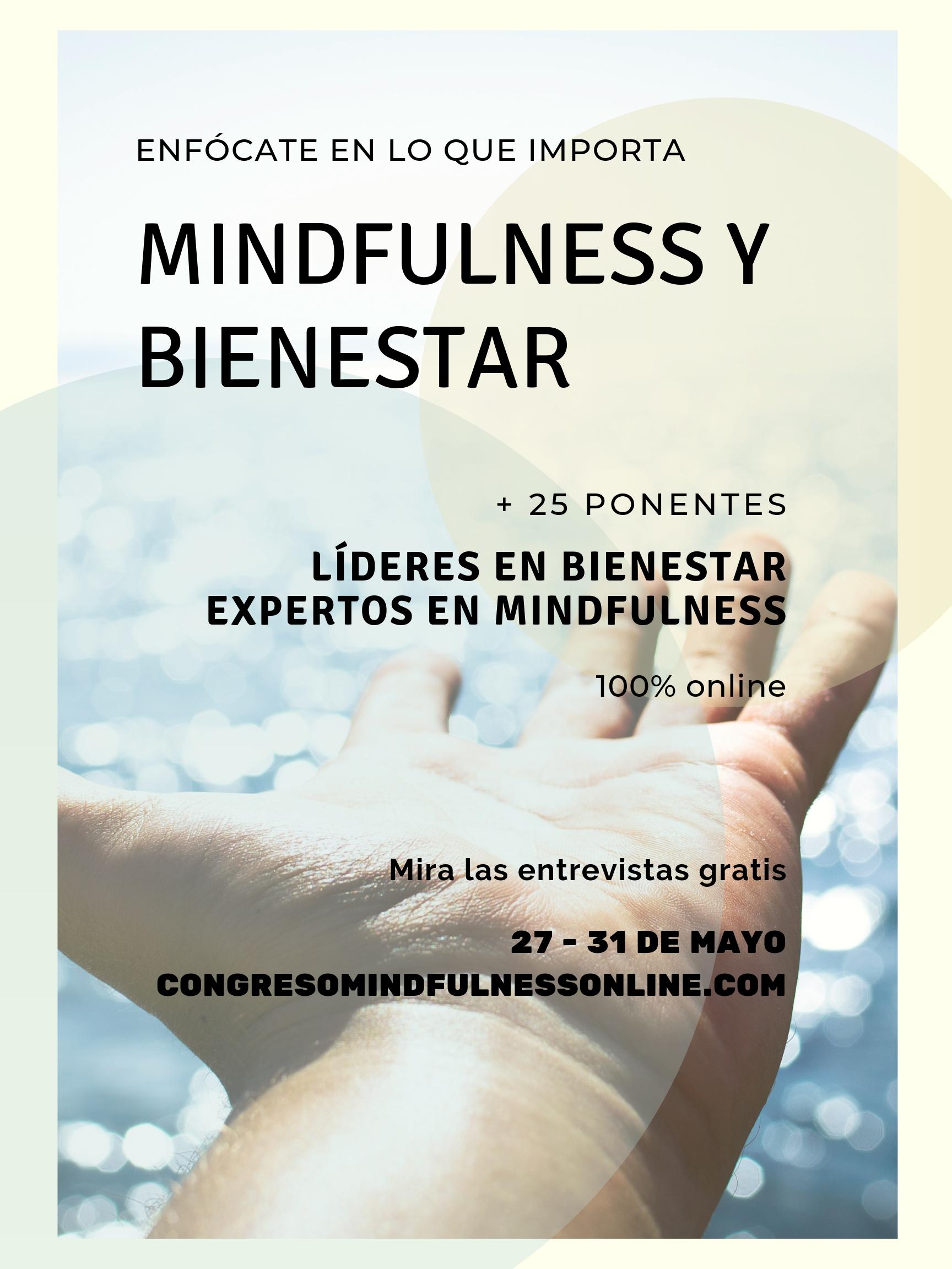 congreso online de mindfulness y bienestar