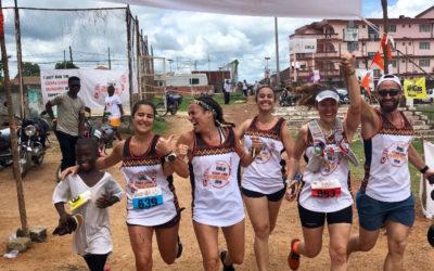 Correr con un propósito. Maratón de Sierra Leona Y Mindful Running